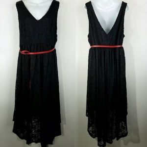 torrid Dresses - TORRID Black lace Hi low Dress 3